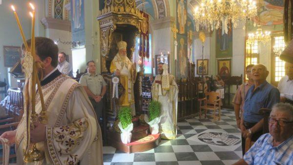 Χειροθεσία Αρχιμανδρίτου στον Άγιο Νικόλαο Τρυπητής