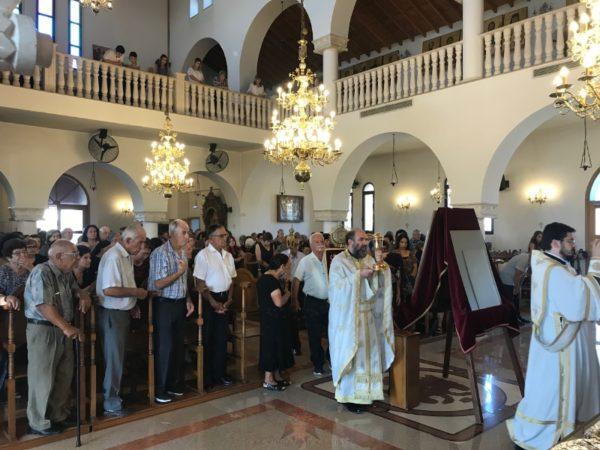 Οι εκτοπισμένοι των Γενάγρων εόρτασαν το Γενέσιον της Θεοτόκου