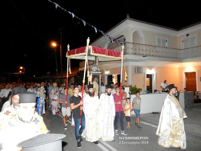 Ζάκυνθος: Κατανυκτική η Λιτανεία του Οσίου Ιωσήφ στο Γαϊτάνι