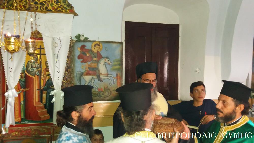 Ύψωση Τιμίου Σταυρού: Λαμπρός Εορτασμός στη Σύμη
