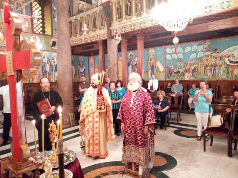 Πατριαρχείο Αλεξανδρείας: Εορτή του Αγίου Ιωακείμ του Πάνυ
