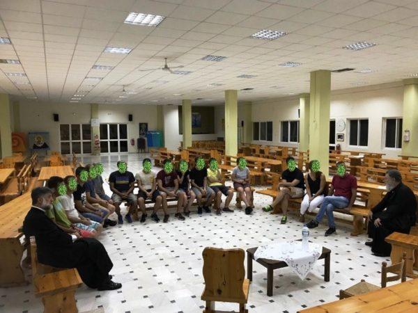 Φιλοξενία νέων του ΚΕΘΕΑ «ΗΠΕΙΡΟΣ» στις Κατασκηνώσεις της Μητροπόλεως Χαλκίδος