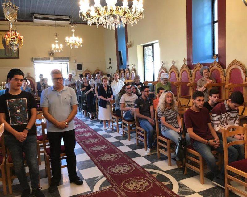 Θεία Λειτουργία από τον Ηλείας Γερμανό για τους εισακτέους στην Τριτοβάθμια Εκπαίδευση