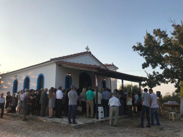 Ο Πατρών Χρυσόστομος εγκαινίασε Ναό στο Κάνδαλο Αχαΐας