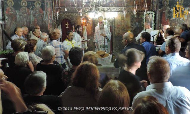 Ύψωση Τιμίου Σταυρού στην Ενορία Μουχουστίου Πλάκας Άρτης