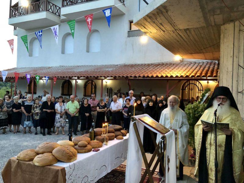 Εορτή Γενεσίου της Θεοτόκου στην Ι.Μονή Γεν.Θεοτόκου Ασωπίας και στην 114 Πτέρυγα Μάχης Τανάγρας