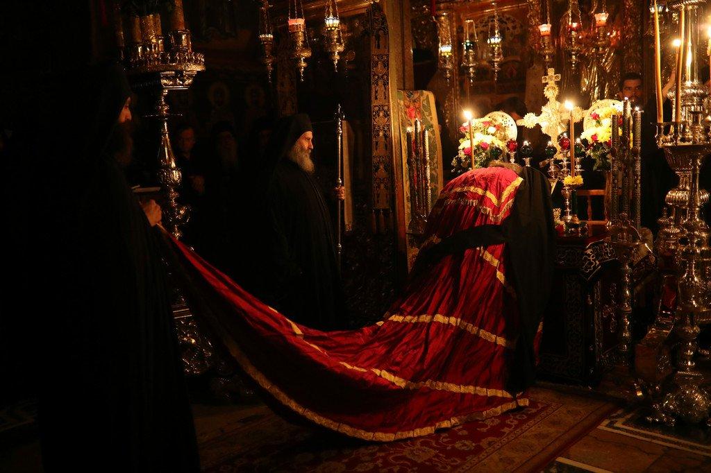Άγιο Όρος: Η Εορτή της Αγίας Ζώνης στη Μονή Βατοπαιδίου