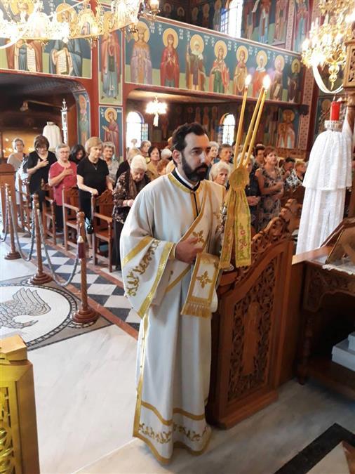 Καρδίτσα: Θεία Λειτουργία στον Ναό Αγίων Σοφίας, Ιωάννου του Χρυσοστόμου και Σπυρίδωνος