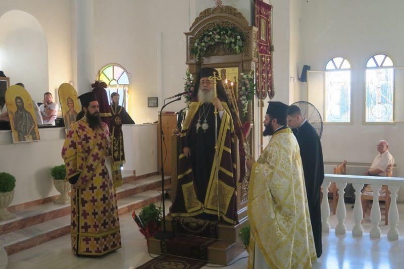 Αγίας Σοφίας: Λαμπρός Εορτασμός στην Πανηγυρίζουσα Ενορία της Λαμίας