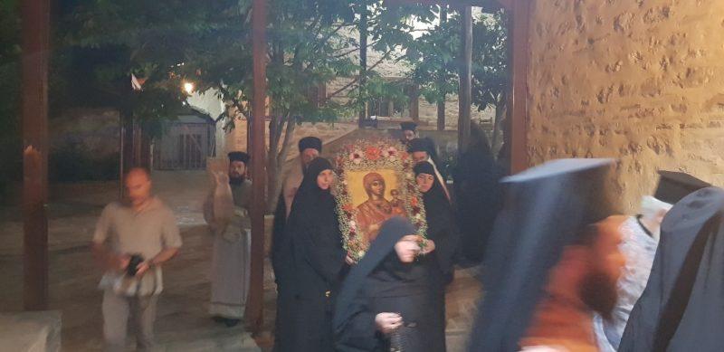 Πανήγυρις Ιεράς Εικόνας Παναγίας «Κορμποβίτισσας» στην ομώνυμη Ιερά Μονή