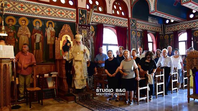Άγιος Νεκτάριος: Αρχιερατική Θεία Λειτουργία στο Ναύπλιο - Χειροθεσία αναγνώστη