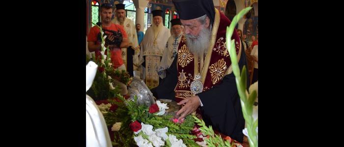 Η Λαμία υποδέχθηκε το Λείψανο του Προστάτου της Αποστόλου και Ευαγγελιστού Λουκά