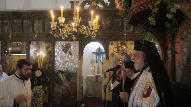 Γενέσιο της Θεοτόκου: Εόρτιος Εσπερινός στη Μονή Βρύσης Σίφνου