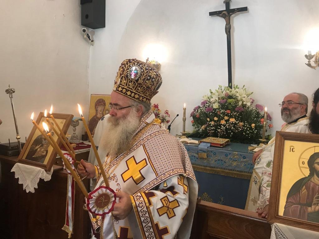 Με λαπρότητα η εορτή του Γενεσίου της Θεοτόκου στην Παναγία των Λιθινών
