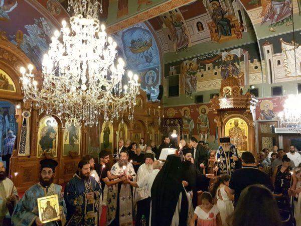 Γενέθλιο της Θεοτόκου: Λαμπρή Εορτή στην Αγία Νάπα