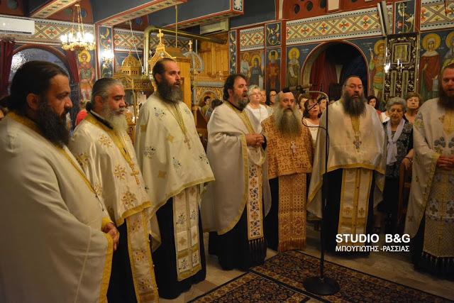 Το Ιερό Λείψανο του Αγίου Παρθενίου στο Ναύπλιο
