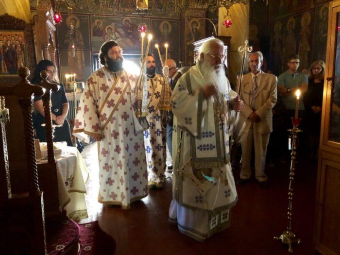 Θεία Λειτουργία στην Μονή Αγίου Νικολάου Υψηλάντη – Επέτειος της Μάχης της Πέτρας