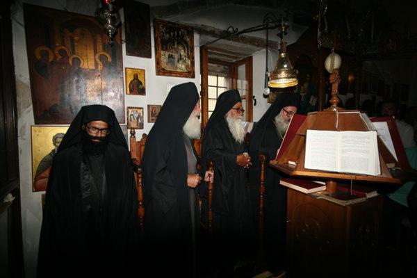 Κουρά Μοναχού Μακαρίου, στην Ι. Μονή Οδηγήτριας