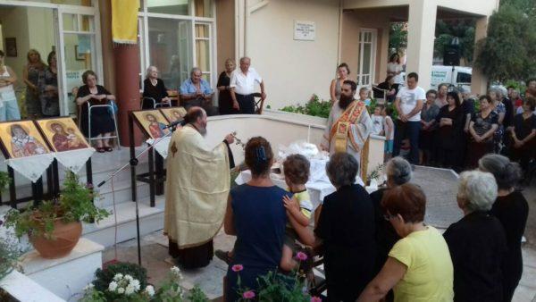Μητρόπολη Λευκάδος: Εορτή της Ανακομιδής των ιερών λειψάνων του Αγίου Νεκταρίου στον Οίκο Προνοίας