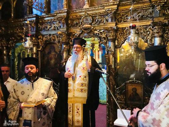 Μνημόσυνο για τον Ιωάννη Καποδίστρια στην Ιερά Μονή Υ.Θ. Πλατυτέρας