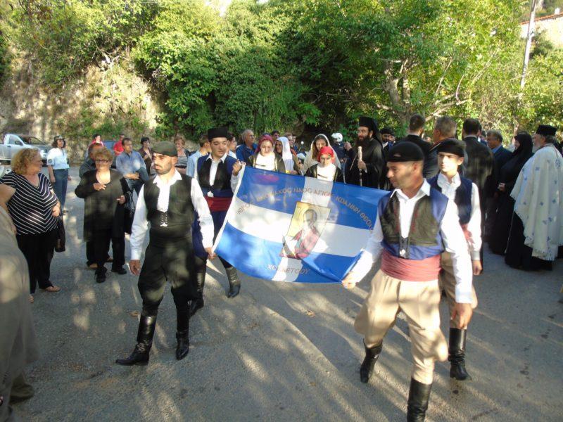 Αρχιεπίσκοπος Κρήτης και πλήθος πιστών στην Εορτή Μεταστάσεως Αγίου Ιωάννου - Υποδοχή Ιερών Λειψάνων