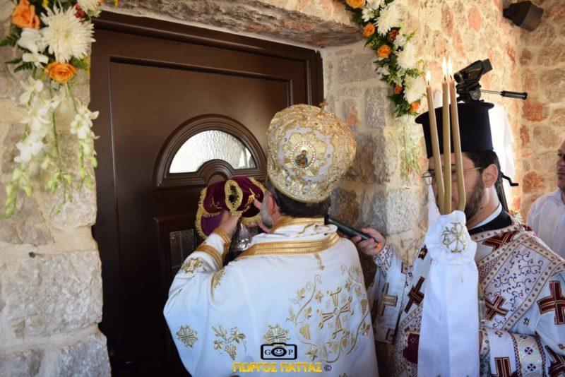 Εγκαίνια Ιερού Ναού Παναγίας «Μυρτιδιωτίσσης» από τον Μητροπολίτη Ρόδου