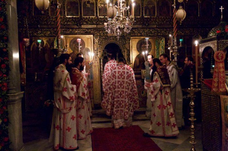 Άγιο Όρος: Ι. Μ. Παντοκράτορος - Πανηγυρική Αρχιερατική Λειτουργία