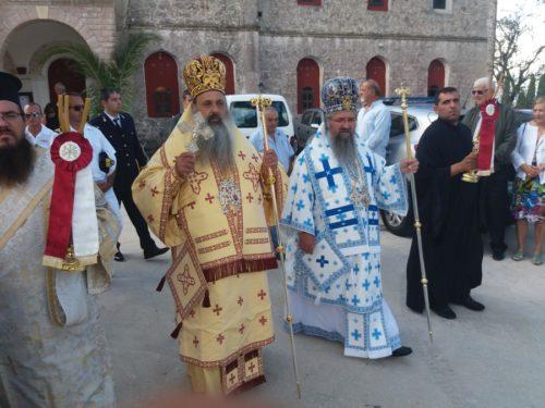 Γενέθλιο Θεοτόκου: Λαμπρή πανήγυρις Ιεράς Μονής Παναγίας των Καθαρών Ιθάκης