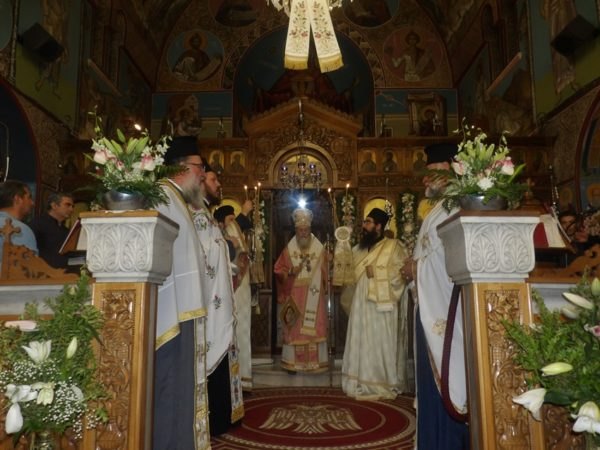 Γενέθλιο Θεοτόκου: Λαμπρός εορτασμός ενώπιον της θαυματουργής Παναγίας «Γιάτρισσας»