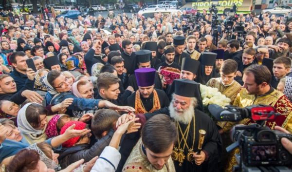 Ο Πατριάρχης Αλεξανδρείας στην 80η επέτειο γενεθλίων του Μητροπολίτου Οδησσού