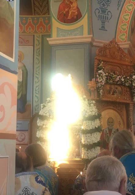 Θαυμαστό γεγονός της Παναγίας σε χθεσινή αγρυπνία