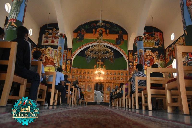 Λαμπρά εγκαίνια του Ναού Κοιμήσεως της Θεοτόκου στην ιστορική πόλη Μαδηβά