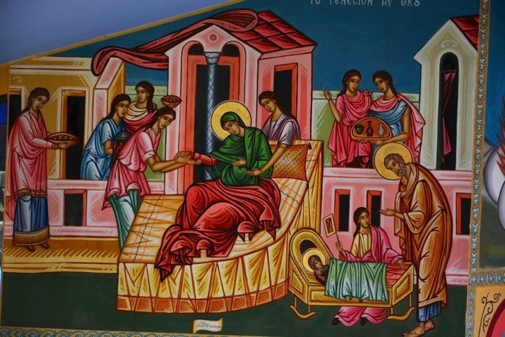 Γενέθλιο της Θεοτόκου: Τι γιορτάζουμε στις 8 Σεπτεμβρίου - Ερμηνεία Εικόνας Γενεσίου