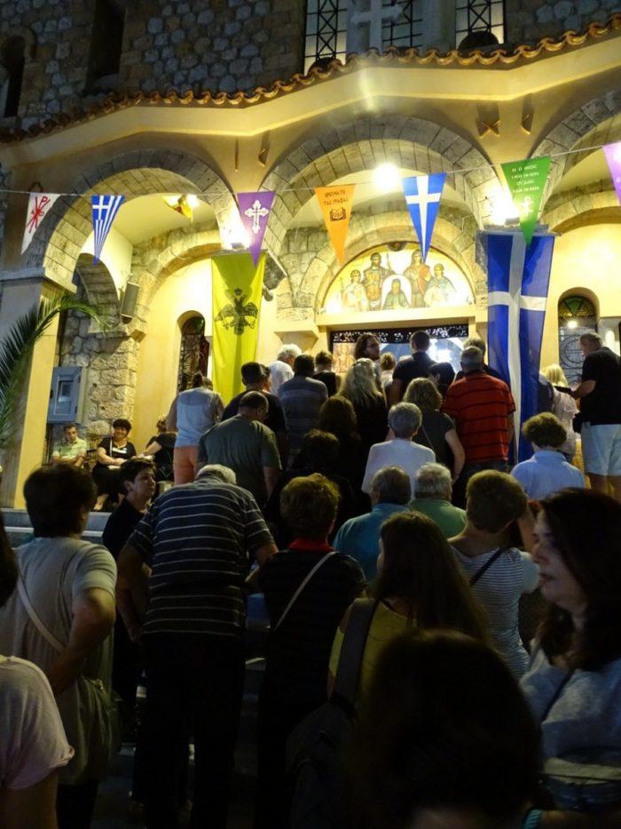 Άγιος Ευστάθιος: Πολυαρχιερατικός Εσπερινός στη Νέα Ιωνία