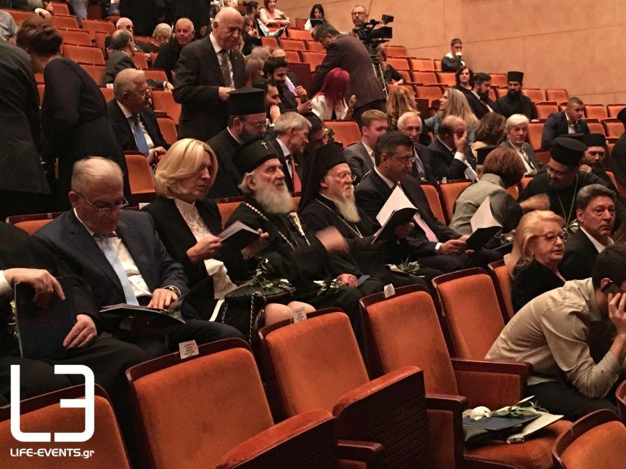 Θεσσαλονίκη ΤΩΡΑ: Οικουμενικός Πατριάρχης και πλήθος κόσμου στη Μονή Λαζαριστών