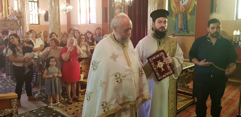 Το οφίκιο του Σταυροφόρου Οικονόμου απένειμε ο Τρίκκης Χρυσόστομος στον π. Στυλιανό Βελώνη