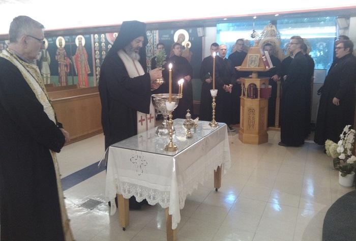 Τορόντο: Αγιασμός στην Ιερά Πατριαρχική Θεολογική Ακαδημία