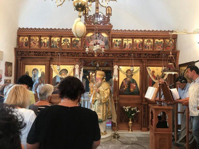 Η πανήγυρη του Ιερού Ναού των Αγίων Ιωακείμ και Άννης στον «Κιμουργιώτη» Σητείας
