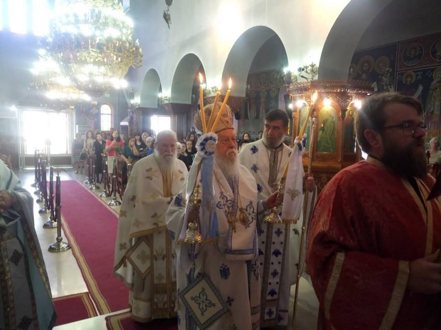 Ύψωση Τιμίου Σταυρού: Λαμπρή Εορτή στη Μητρόπολη Παραμυθίας