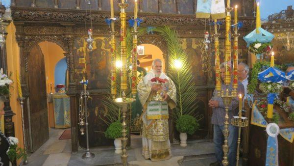 Η Σίκινος γιόρτασε την Ύψωση του Τιμίου Σταυρού