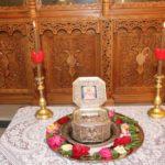 Η ενορία Κεράμου υποδέχθηκε απότμημα λειψάνων του Ιερομάρτυρος Αγίου Διονυσίου του Αρεοπαγίτου