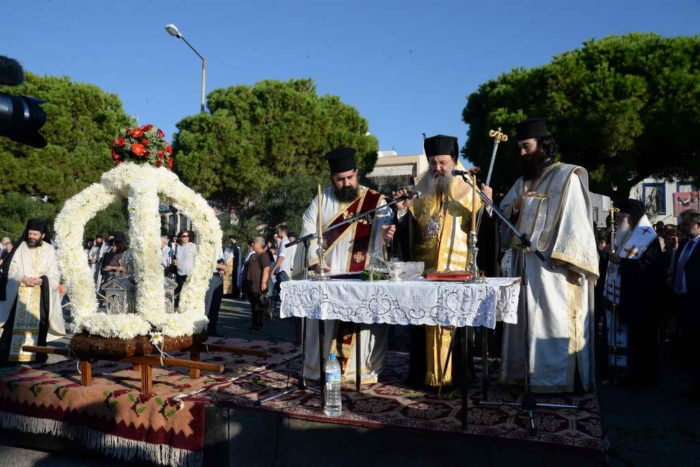 Χρυσόστομος: Η Πάτρα είναι ταυτισμένη με τον Άγιο Απόστολο Ανδρέα