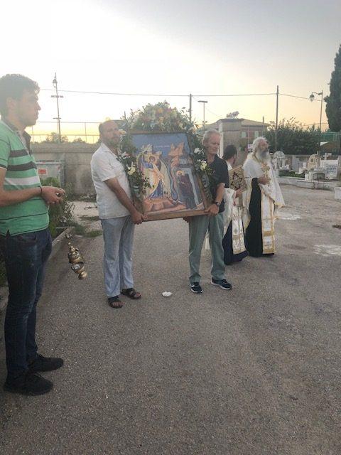 Λευκάδα: Η Ιερά Πανήγυρις της ανάμνησης του εν Χώναις θαύματος του Ταξιάρχου Μιχαήλ στον Ιερό Κοιμητηριακό Ναό