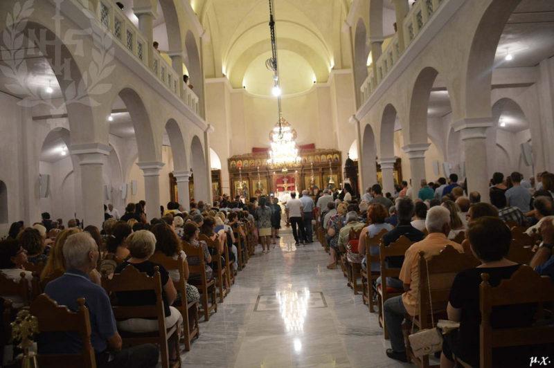 Θυρανοίξια, Εσπερινός και Θεία Λειτουργία στον Ναό Αγίων Κυρίλλου και Μεθοδίου στην Πολιτεία Ευόσμου
