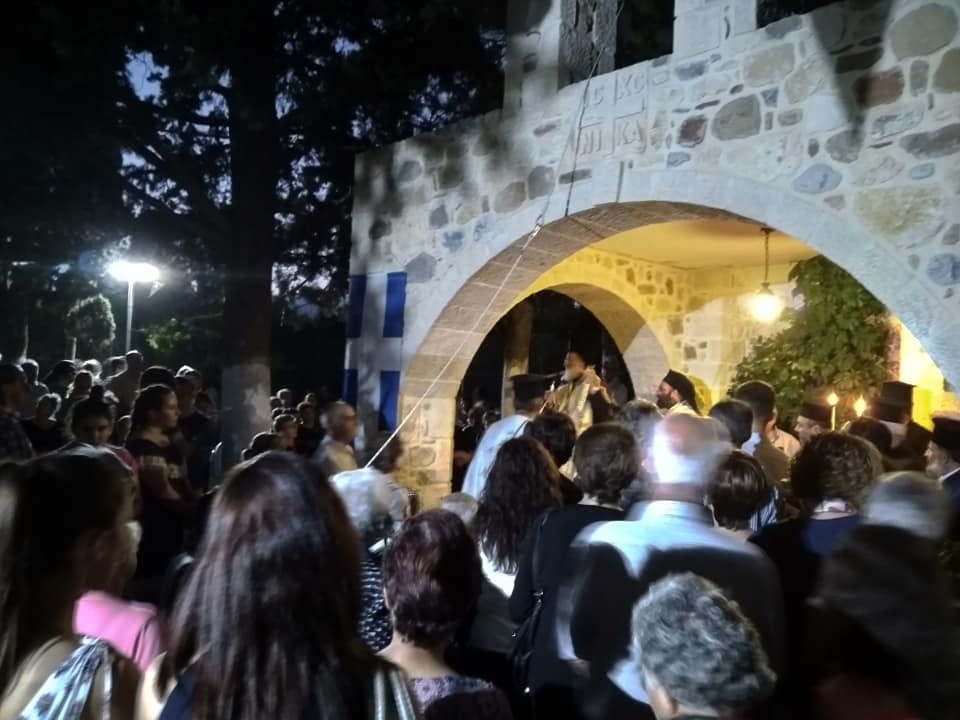 Εορτή του Γενεσίου της Θεοτόκου στον Ιερό Ναό στο Αρχοντικό Μονοφατσίου
