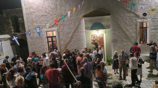Αγία Σοφία: Λαμπρή Εορτή στην Άνδρο