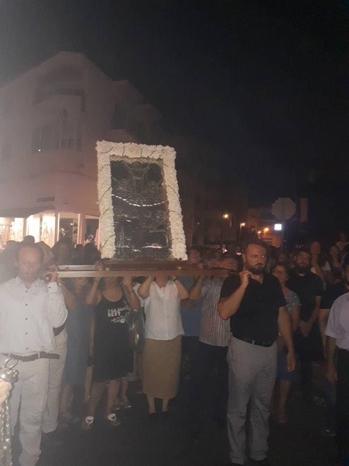 Εορτασμός Καταθέσεως Τιμίας Ζώνης στη Μητρόπολη Λεμεσού