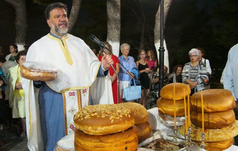 Γενέθλιο της Θεοτόκου: Εσπερινός στο Παρεκκλήσιο του Γενεσίου της Θεοτόκου Εκάλης