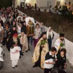 Ύψωση Τιμίου Σταυρού στη Μητρόπολη Κυδωνίας