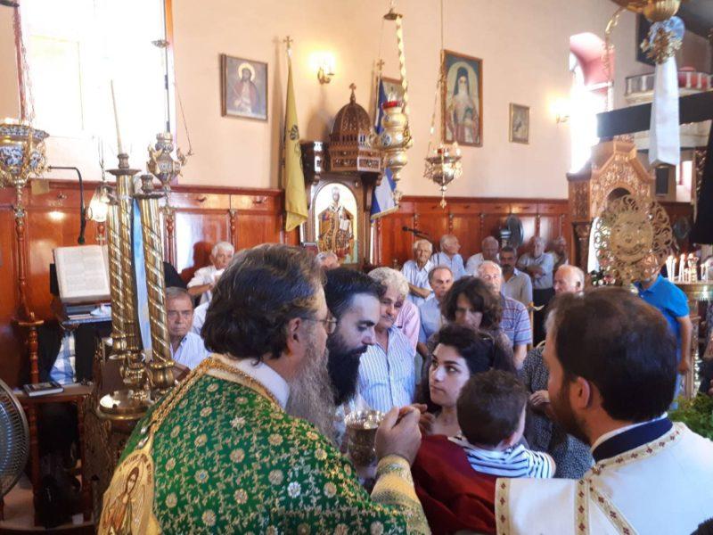 Ο εορτασμός της μνήμης του Αγίου Βησσαρίωνος στο Βαθύ Μεγανησίου